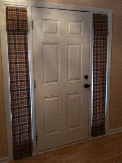 Updated Sidelight Window Coverings Runt S Pickins Window Covering For Sidelights On Front Door
