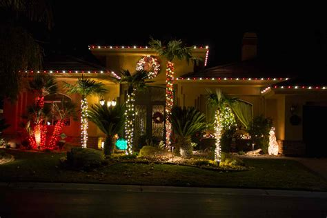 residential holiday lighting service in las vegas at