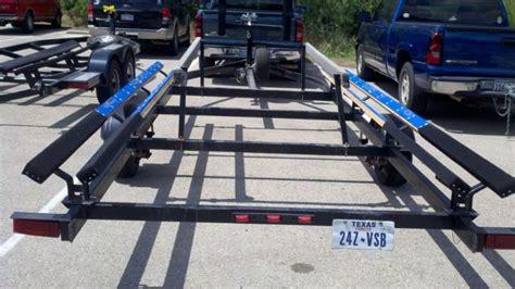 trailer bunk slides pontoon forum gt get help with your - Pontoon Boat Trailer Bunk Slides