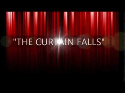 the drapery falls anthony bauer jr quot the curtain falls quot bobby darin cover
