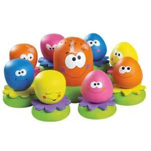 poulpy et ses amis multicolore de tomy jouets de bain