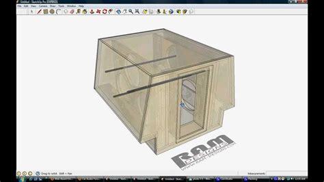 ram design ram designs 6 18 quot dc audio bandpass wall box
