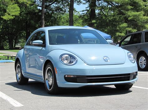 mini volkswagen beetle five small cars that should get better gas mileage