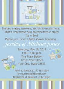 boy baby shower invitation wording dancemomsinfo