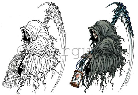 tattoo designs deviantart grim reaper drawing www imgkid the image