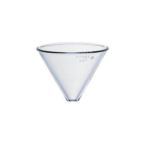 Funel Corong Pyrex Diameter 100mm corning pyrex borosilicate glass plain stemless funnel 100mm top i d general general