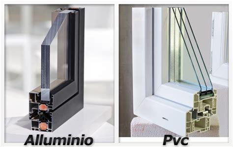 porte e finestre in alluminio meglio infissi in pvc o in alluminio prezzi e opinioni