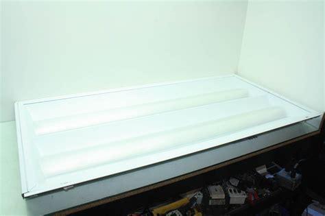 2x4 T8 Light Fixture Lithonia 2rt8b 2 32 Mvolt 2x4 Lay In Troffer Office Two Light Fixture T8 Ebay