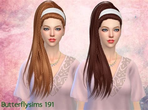 butterfly sims hair sims 4 b fly hair af 191 pay at butterfly sims 187 sims 4 updates