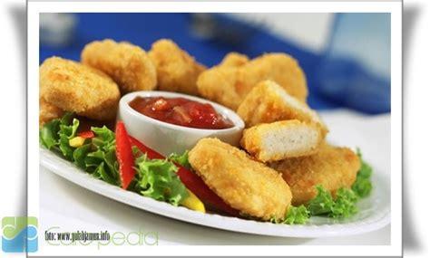 cara membuat nugget ayam anak cara membuat nugget sehat masakan eropa carapedia
