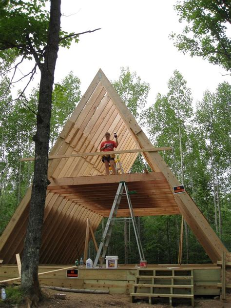 building an a frame cabin 25 best ideas about a frame house on a frame