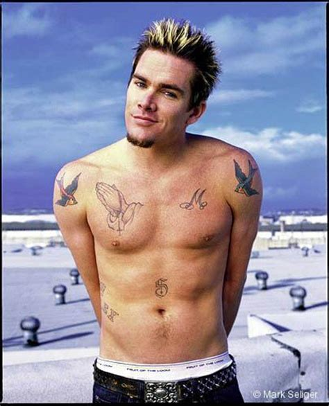 the front man of the fun loving group sugar ray is no celebrity tattoos mark mcgrath infinite tattoos blog