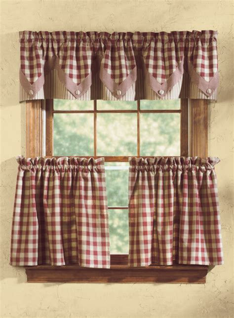 york lined point curtain valance