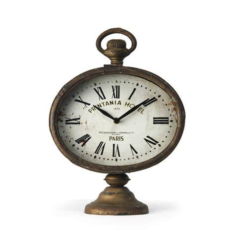 zentique desk clock on stand