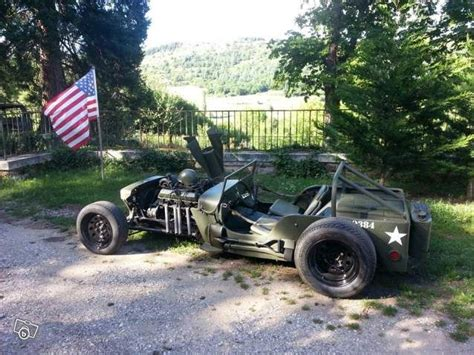 Hotrod Jeep Rod Jeep Willys Voitures Ard 232 Che Leboncoin Fr
