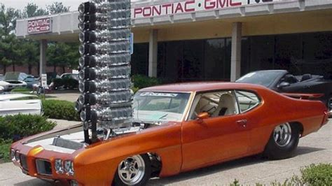 pontiac supercharger this supercharged 1970 pontiac gto will not pass by