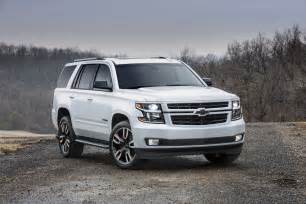 2018 chevrolet tahoe rally sport truck rst gm authority