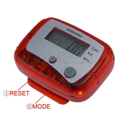 Freestyle Digital Pedometer Instruction Manual Runebearer