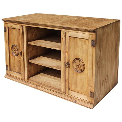 rustic pine collection tecate tv stand com314