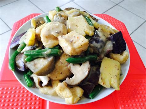 r beans vegetables mix vegetables stir fry with tofu in bean curd sauce m 243 n