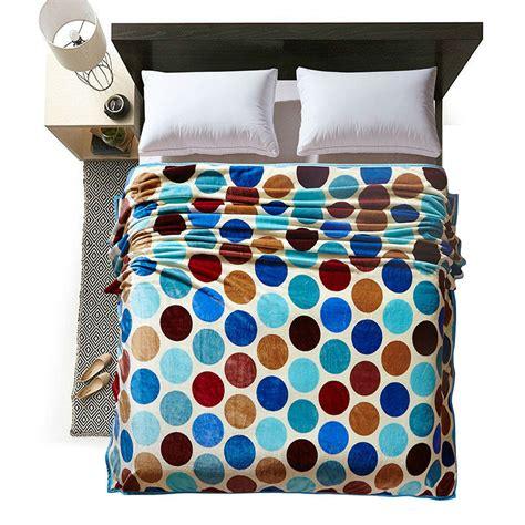 Baroque Coral Throw Blanket Vogue Papa Mima Fashion Multicolor Dots Print Summer Throw