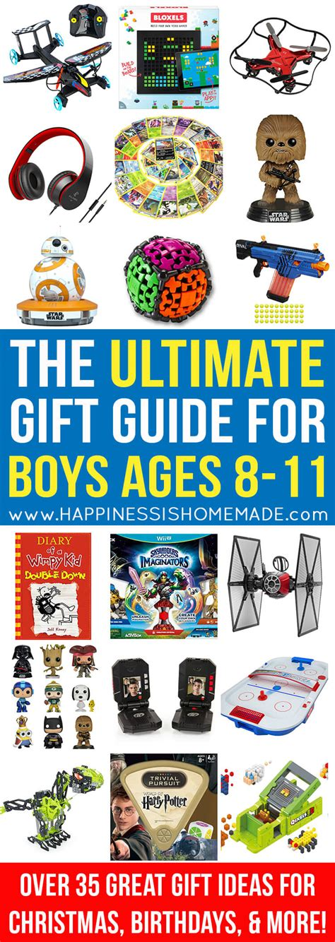 the best gift ideas for boys ages 8 11 happiness is homemade