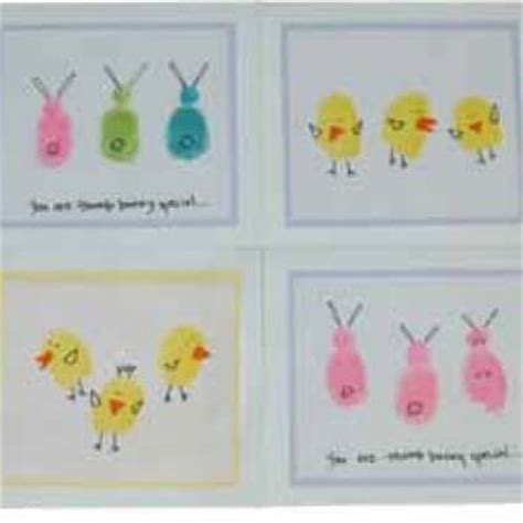 easy easter cards for toddlers to make fingerprint easter cards easter cards for to make