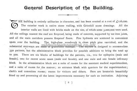 brecon and radnor asylum grand opening 1903