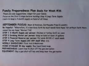 sample printable family preparedness plan for lds ward