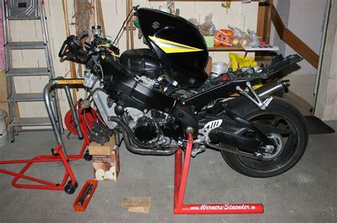 Montageständer Motorrad Bmw S1000r by Problem Mit Quot Werners St 228 Nder Quot K6 Gsx R1000 De
