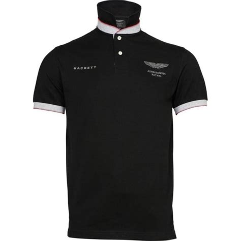 Aston Martin Shirt by Buy Aston Martin Racing Polo Shirt Black Hackett