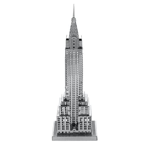 picture of the chrysler building fascinations metal earth 3d metal model diy kits