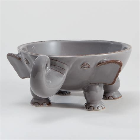 World Market Elephant L by Elephant Individual Bowl World Market