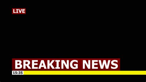 breaking news logo picture template banner lower third stock footage video shutterstock