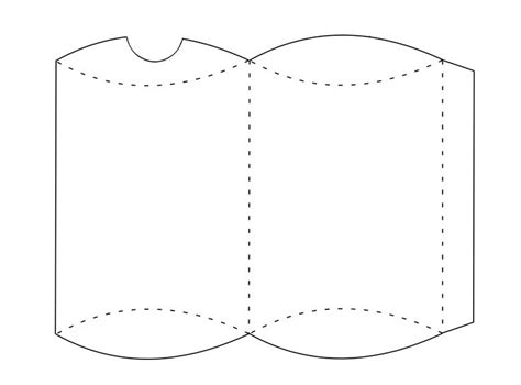 pillow boxes template