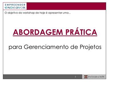 Mba Gerenciamento De Prgetos Univali Olvideo by Gerenciamento De Projetos