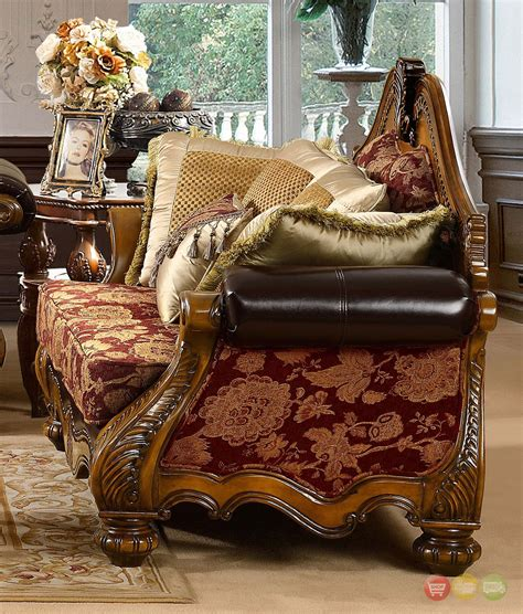 Luxury Formal Living Room Furniture W Carved Wood Hd 481 Carved Wood Living Room Furniture