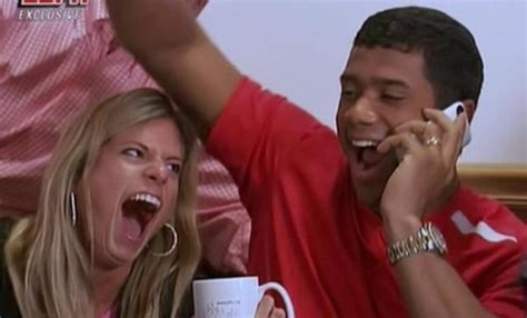 russell wilson and his wife ashton were getting a divorce photos russell wilson s wife ashton meem reaction to him