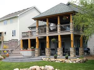 Covered Porch Design by Raised Decks Elevated To A Whole New Level By Archadeck