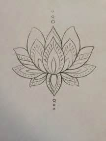 Lotus Flower Design Amazing Black Ink Lotus Design