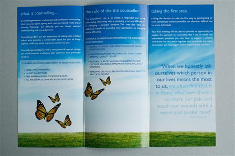 design information leaflet mathew boggan leaflet two heads website graphic designers