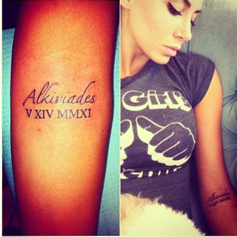 tattoo name placement tattoo placement roman numerals tattoos pinterest