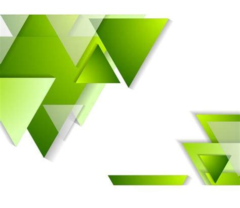 triangle background vector download green triangle with white background vector vector
