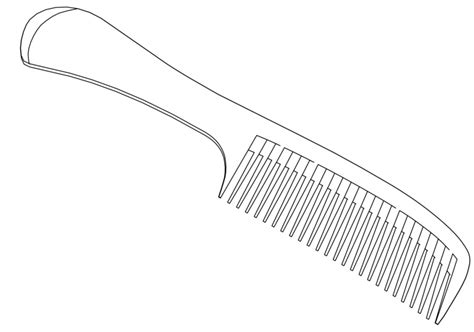 coloring page hair brush hair brush coloring pages coloring pages