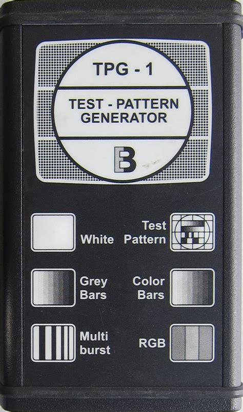 test pattern generator tv tv test pattern generator tpg 1