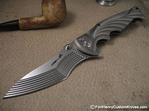 Unique Knives by Brian Tighe Tighe Breaker Fort Henry Custom Knivesfort