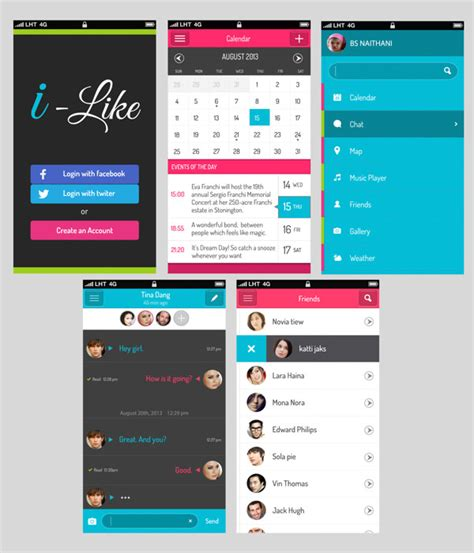 Design Mobile Application Ui | 20 mobile user interface design for your inspiration
