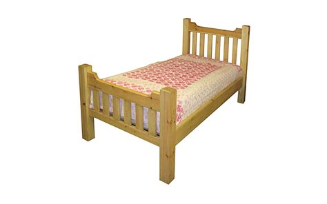 slatted bed beds kerris farmhouse pine