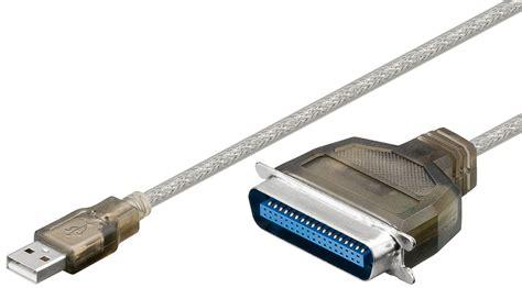 Kabel Usb Data Printer 1 5m usb zu parallel konverter adapter kabel usb