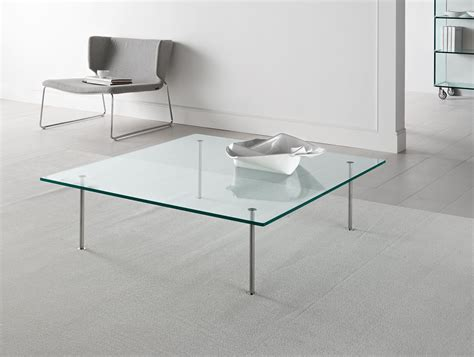 clear lucite coffee table lucite coffee table seating area with barcelona chairs